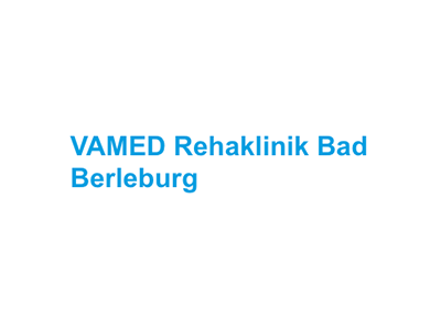 VAMED Rehaklinik Bad Berleburg